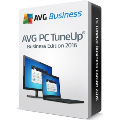 _Nová licence AVG PC TuneUp BUSINESS EDICE 50 lic. (12 měs.) SN Email ESD