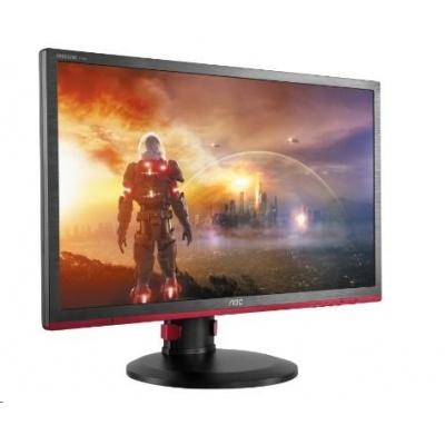 """AOC MT LCD WLED 24"""" G2460PF herní monitor, 1920x1080, 350cd, 80M:1, D-Sub, DVI, HDMI, 4xUSB, DP, pivot"""