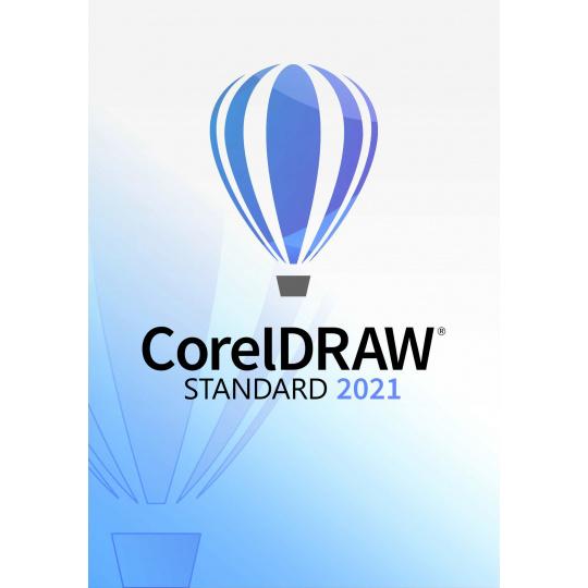 CorelDraw Standard 2021 Education License (100+) EN/FR/ES/BR/IT/NL/CZ/PL