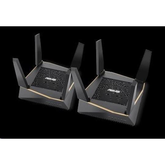 ASUS RT-AX92U 2-pack Wireless AX6100 Gigabit Router, 4x gigabit RJ45, 1x USB3.1, 1x USB2.0