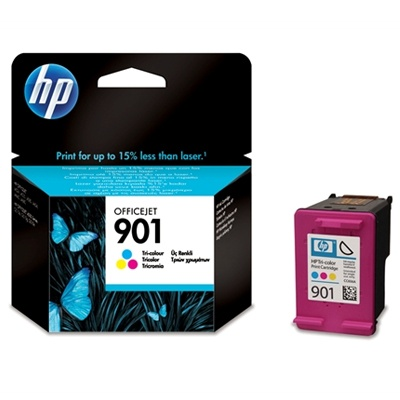 HP 901 Tri-color Ink Cart, 9 ml, CC656AE