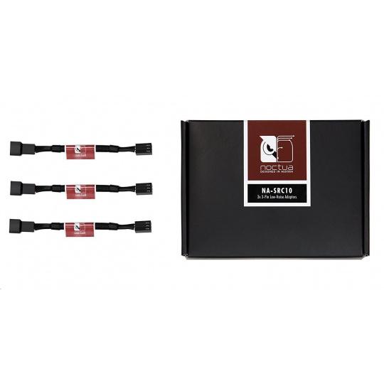NOCTUA NA-SRC10 - sada 3 ks Low Noise adaptérů pro 3pin ventilátory
