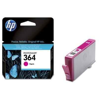 HP 364 Magenta Ink Cart, 3 ml, CB319EE