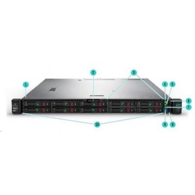 HPE PL DL325g10 AMD EPYC 7302P (3.0G/16C/128M) 16G P408i-a 8SFF 1x800W 366FLR-4x1Gb NBD333 EIR 1U