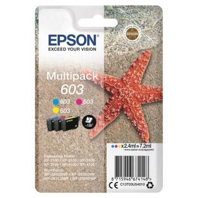 """EPSON ink Multipack """"Hvězdice"""" 3-colours 603 Ink"""