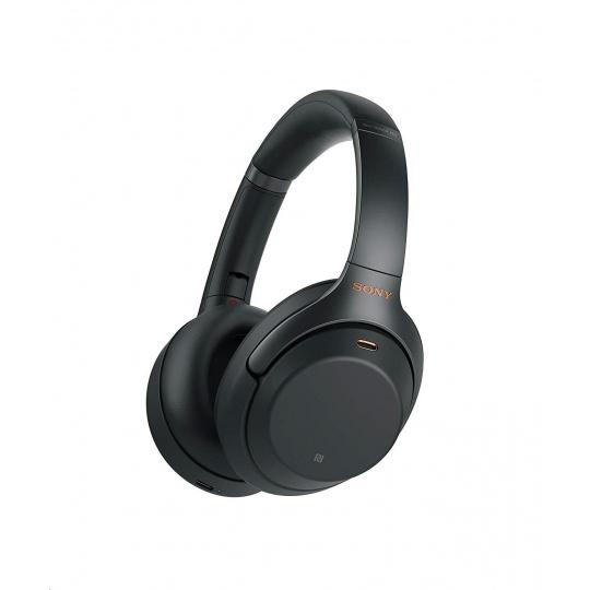 SONY Bluetooth stereo sluchátka WH1000XM3, černá