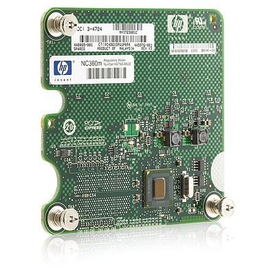 HP NC360m Dual Port 1GbE BL-c Adapter