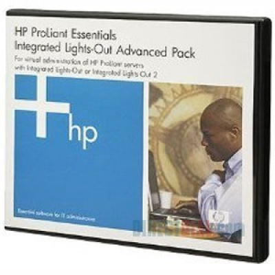 HP SW ILO Advanced Pack for BladeSystem, No Media, 8-Blade License, 1y 24x7 Techn. Supp&Updates
