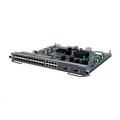 HPE 7500 24p GbE SFP/2p 10GbE XFP SD Mod