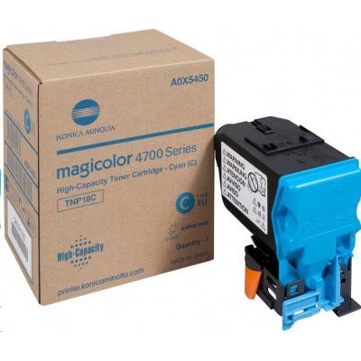 Minolta Toner TNP-18C toner azurový (6k) do MC4750