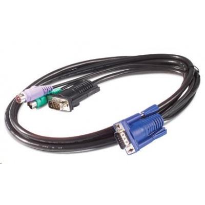 APC KVM PS/2 Cable - 6 ft (1.8 m)