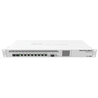 MikroTik CloudCoreRouter CCR1009-7G-1C-1S+, 1200MHz CPU, 2GB RAM, 7x LAN, 1x SFP, 1xSFP+, 1x microUSB, vč. L6 licence
