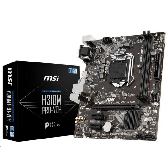 MSI MB Sc LGA1151 H310M PRO-VDH PLUS