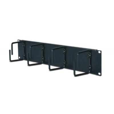 APC 2U Horizontal Cable Organizer Black