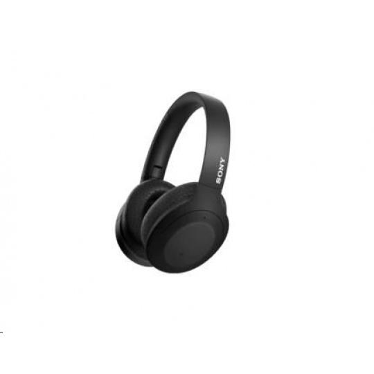 SONY bezdrátová stereo sluchátka WHH910N, černá