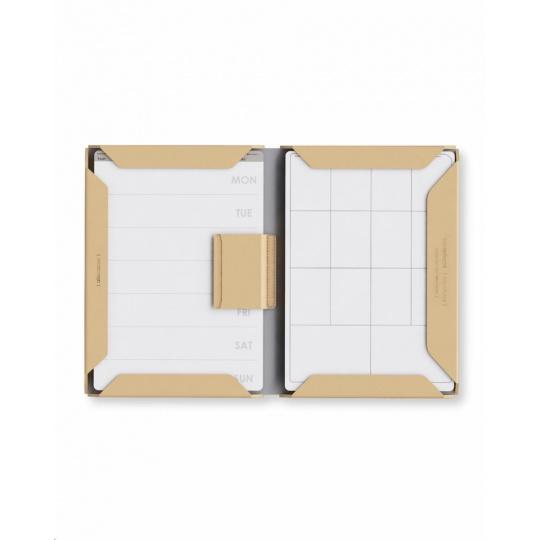 Allocacoc Notebook Modular A4 Polyester (brown) V.