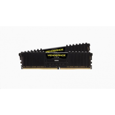 CORSAIR DDR4 8GB (Kit 2x4GB) Vengeance LPX DIMM 2400MHz CL14 černá