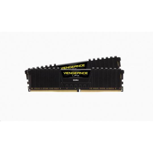 CORSAIR DDR4 16GB (Kit 2x8GB) Vengeance LPX DIMM 3000MHz CL15 černá