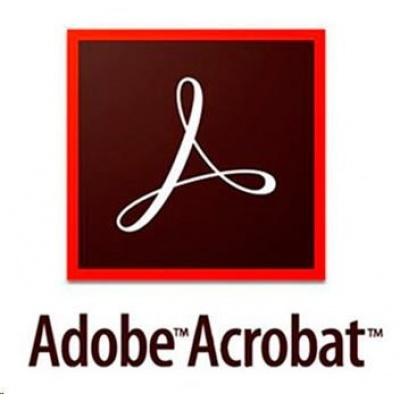 Acrobat Pro DC MP EU EN ENTER LIC SUB New 1 User Lvl 2 10-49 Month