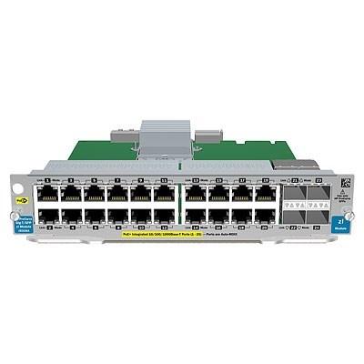 HPE 20-port GT PoE+/4-port SFP v2 zl Mod