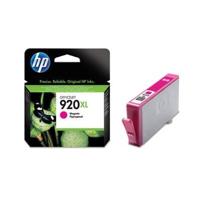 HP 920XL Magenta Ink Cart, 6 ml, CD973AE