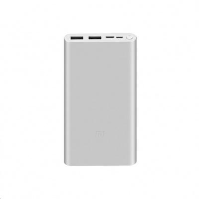 10000mAh Mi 18W Fast Charge Power Bank 3 (Silver)