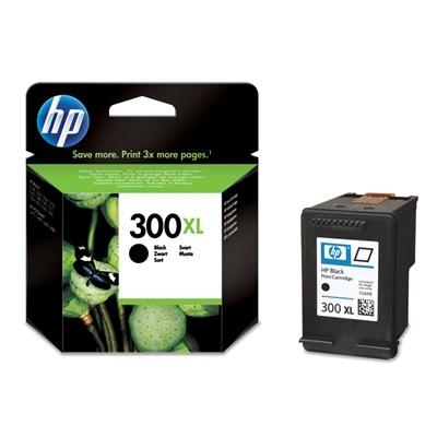 HP 300XL Black Ink Cart, 12 ml, CC641EE