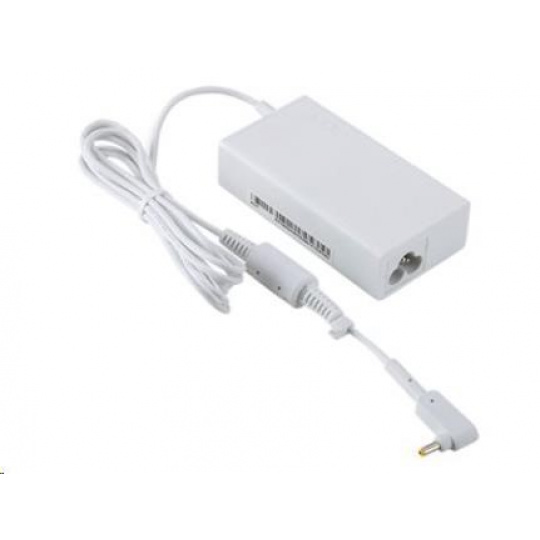 ACER ADAPTER 45W_3phy 19V Black EU and UK POWER CORD (Swift 1, 3, 5; Spin 1, 5;  TM X3;  TM Spin B1; Chromebook 11, R11,
