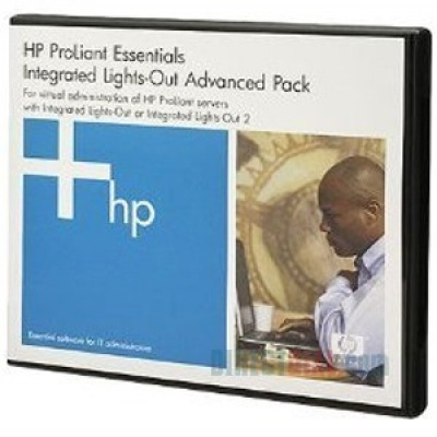 HP SW ILO Advanced Pack for BladeSystem, No Media, Flex-Qty Lic, 1y 24x7 Techn. Supp&Updates
