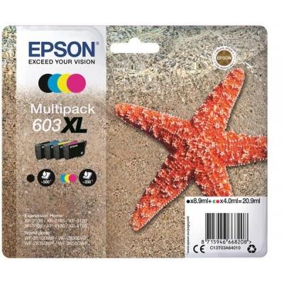 """EPSON ink Multipack """"Hvězdice"""" 4-colours 603XL Ink"""