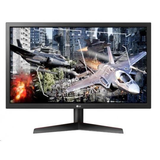 "LG MT LCD LED 23,6""  24GL600F, 1920x1080, 300cd, 1ms, 2xHDMI, DP"