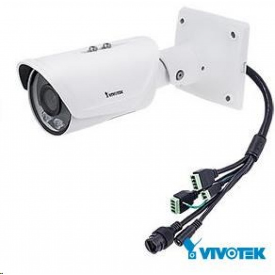 Vivotek IB9367-H, 2Mpix, 30sn/s, H.265, obj. 2.8mm (88°),DI/DO,PoE,IR-Cut,Smart IR,SNV,WDR 120dB,MicroSDXC, IP66