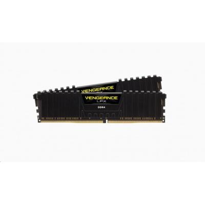 CORSAIR DDR4 16GB (Kit 2x8GB) Vengeance LPX DIMM 4500MHz CL19 černá