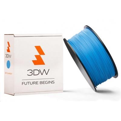 3DW ARMOR - PLA filament, průměr 1,75mm, 500g, modrá, teplota tisku 190-210°C