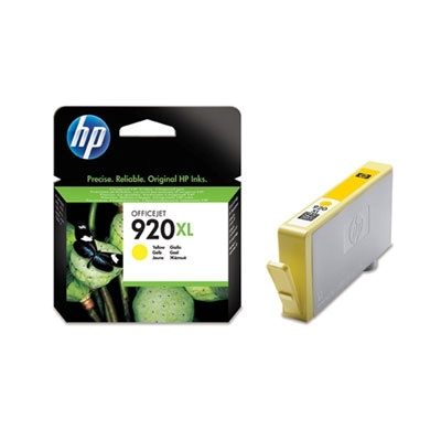 HP 920XL Yellow Ink Cart, 6 ml, CD974AE