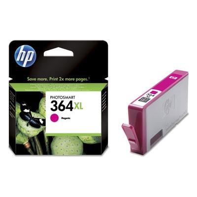 HP 364XL Magenta Ink Cart, 6 ml, CB324EE
