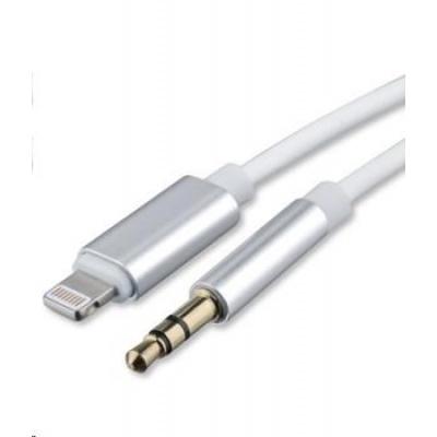 4smarts audio kabel SoundCord, Lightning -> 3,5 mm jack, bílá
