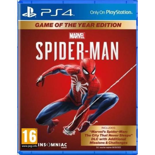 SONY PS4 hra Marvel's Spider-Man GOTY