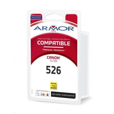 ARMOR cartridge pro CANON iP 4850 Yellow s čipem (CLI526Y) 10,5ml