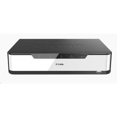 D-Link DNR-2020-04P JustConnect 16-Channel Multifunctional Network Video Recorder, rekordér pro IP kamery