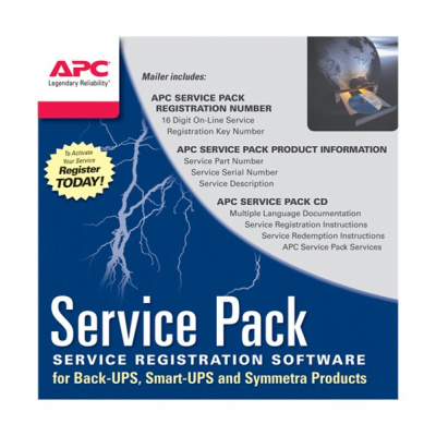 APC 3 Year Service Pack Extended Warranty (for New product purchases), SP-01