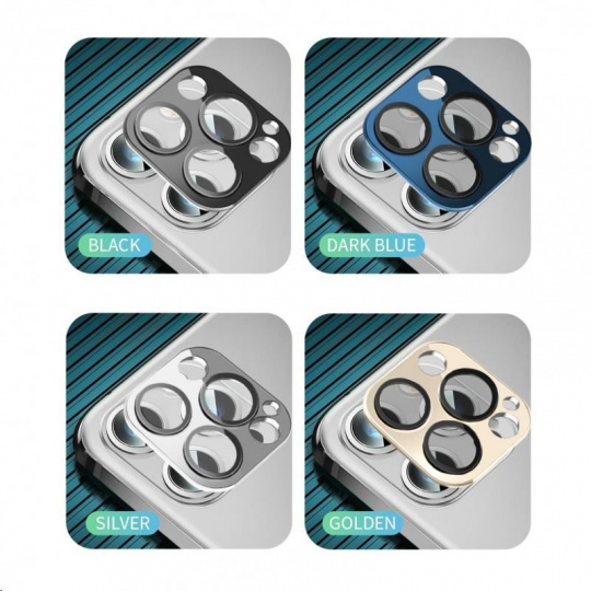 COTEetCI sklo na fotoaparát pro Apple iPhone 12 Pro 6.1'' černé