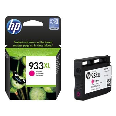 HP 933XL Magenta Ink Cart, 9 ml, CN055AE