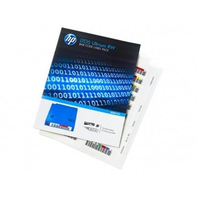 HP LTO-5 Ultrium Bar RW Code Label Pack, Q2011A