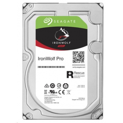 "SEAGATE HDD IRONWOLF PRO (NAS) 3,5"" - 6TB, SATAIII, 7200rpm, 256MB cache"
