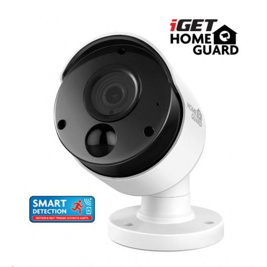 iGET HOMEGUARD HGPRO838 Přídavná Full HD kamera k kamerovému systému iGET HGDVK84404, SMART detekce pohybu, IP66