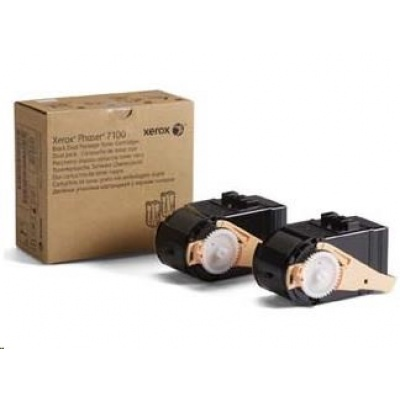 Xerox toner Black 2x pro Phaser 7100, 10000 str.