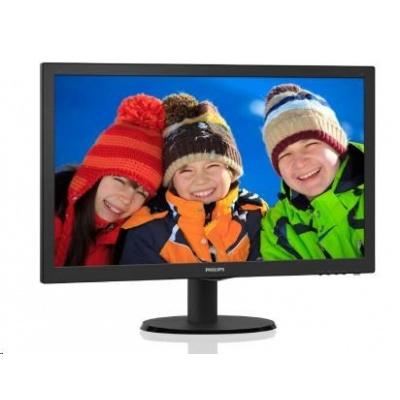 "Philips MT LED 21,5""  223V5LHSB2/00 1920x1080, 200cd/m, 5ms, 10mil:1, D-Sub, HDMI"