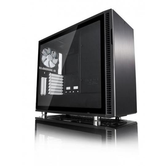 FRACTAL DESIGN skříň DEFINE R6 USB 3.0 Black, průhledný bok TG, bez zdroje