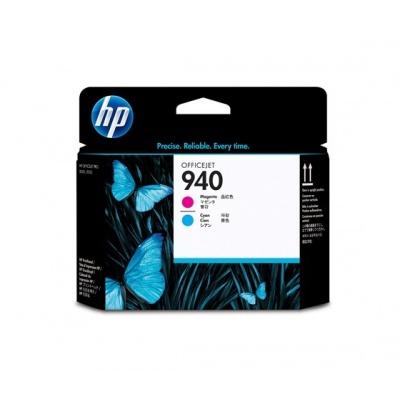 HP 940 Magenta+Cyan Printhead, C4901A